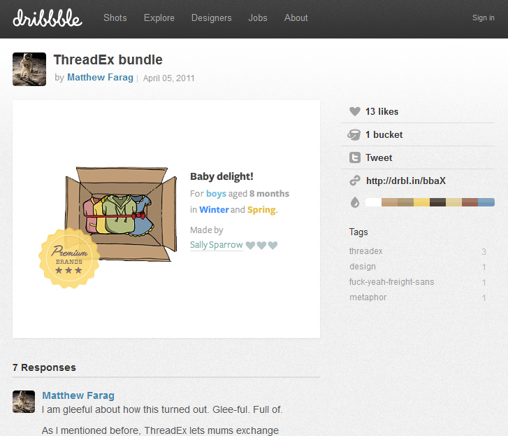 dribble Matthew Farag  איך לגייס מאפייני חוויית משתמש