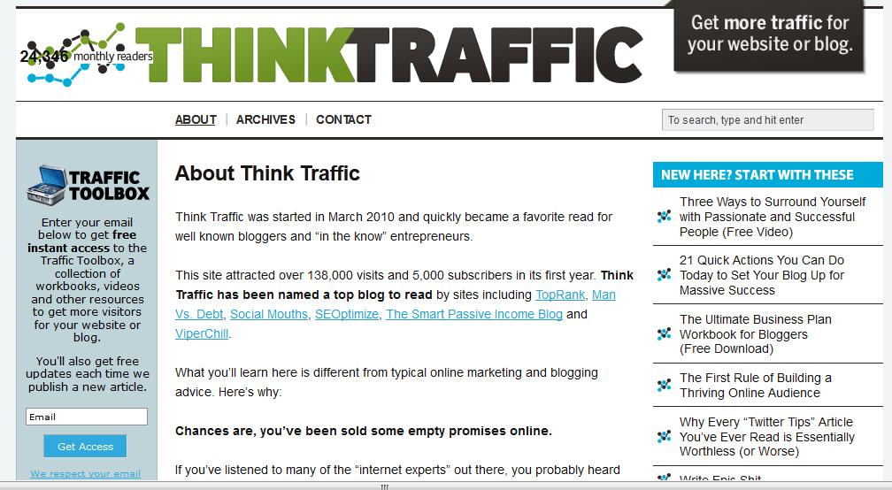 think traffic old  חושבים לעצב מחדש את האתר? קראו את זה קודם.