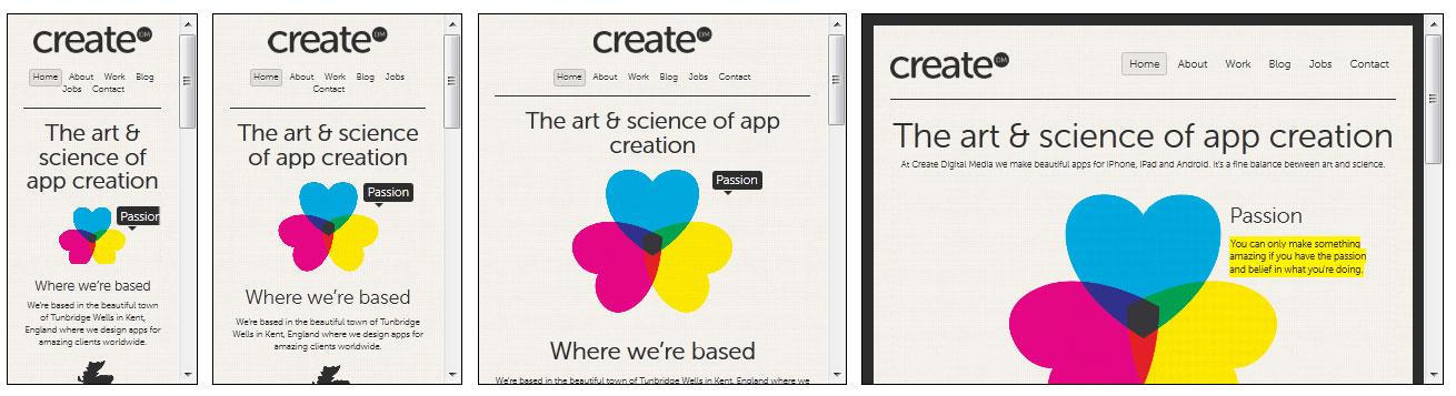 create  מאפיין-עיצוב רספונסיבי כבר עשית?