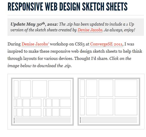 sketch-sheets