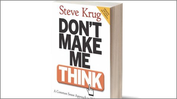 """כריכת הספר """"אל תגרמו לו לחשוב"""