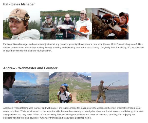 """עמוד ה""""אודות"""" החדש. מראה אישי ואותנטי. מקור: צילום מסך"""